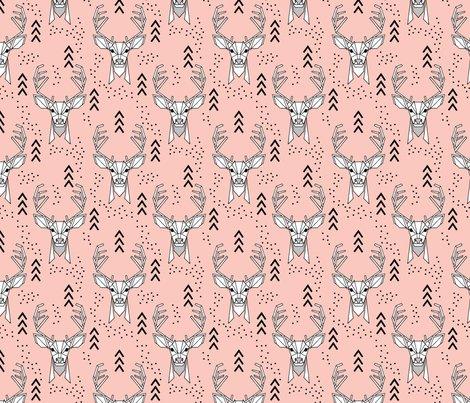 Geometric-deer-pink800_shop_preview