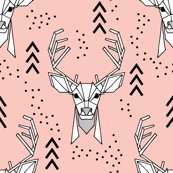 Geometric-deer-pink800_shop_thumb