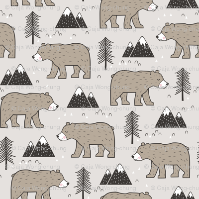 Mountain Bear  Woodland