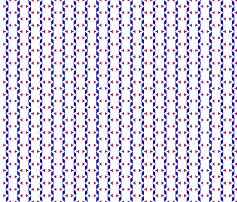 Tickled Stripes fabric by fireflower on Spoonflower - custom fabric