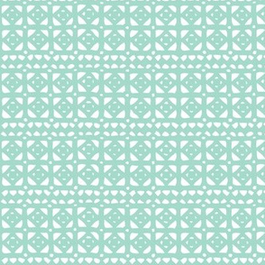 Veranda - Geometric Aqua