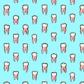 Teeth - Light Blue