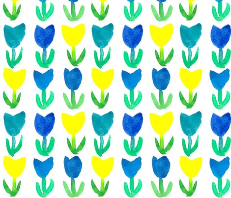 Pattern_tulips_blue_yellow_shop_preview