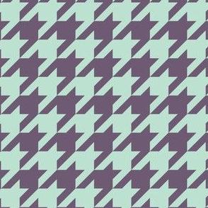 Houndstooth Purple Blue