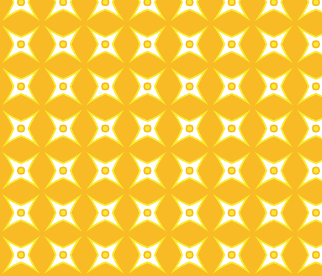 Sun is a Star fabric by edjeanette on Spoonflower - custom fabric