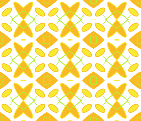 Straight Citrus fabric by edjeanette on Spoonflower - custom fabric