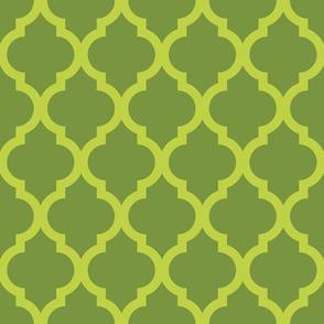 Veggies Lattice Fencing Green