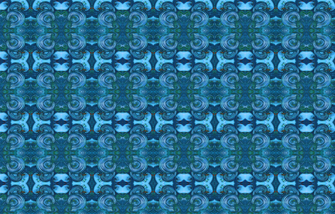 Ocean Mixer fabric by gingercreasy on Spoonflower - custom fabric