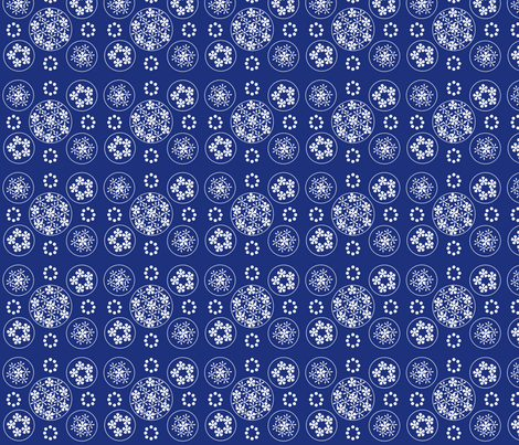 valencia_navy fabric by snap-dragon on Spoonflower - custom fabric