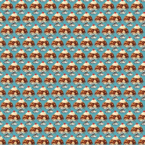 Ice Cream Sundae fabric by kellygilleran on Spoonflower - custom fabric