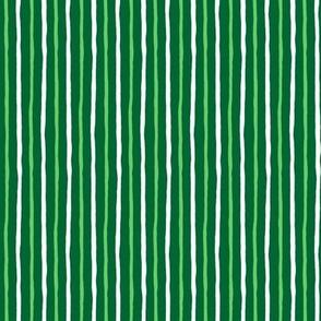 Minty Goodness: Simple Wavering Stripe_150_DPI