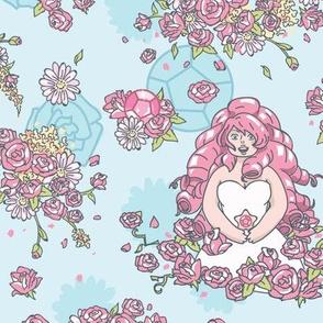 Rose Quartz Floral