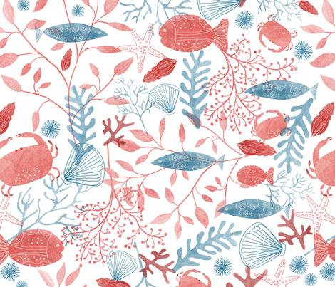Waitui fabric by melarmstrongdesign on Spoonflower - custom fabric