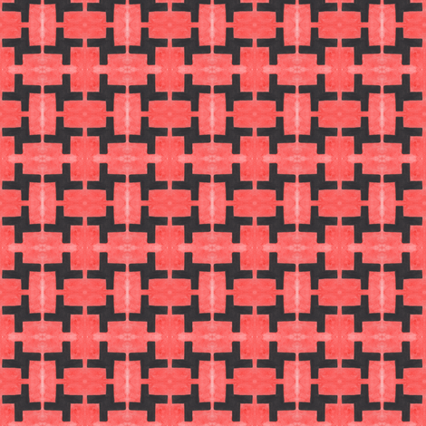 Crazy Bricks fabric by lilafrances on Spoonflower - custom fabric