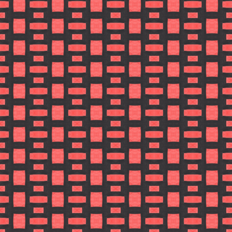 Stacked Bricks fabric by lilafrances on Spoonflower - custom fabric