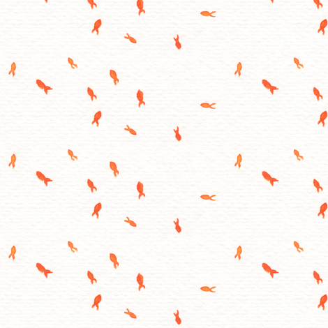 Teeny Fishes fabric by lilafrances on Spoonflower - custom fabric
