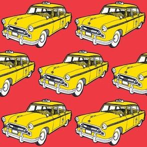 Nifty Fifties 1956-58 Checker taxi cab