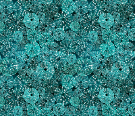 Under the water fabric by lavish_season on Spoonflower - custom fabric
