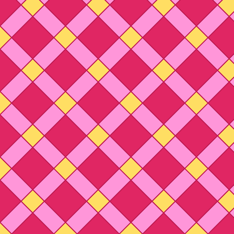 Mahou Tsukai Plaid fabric by sparklepipsi on Spoonflower - custom fabric