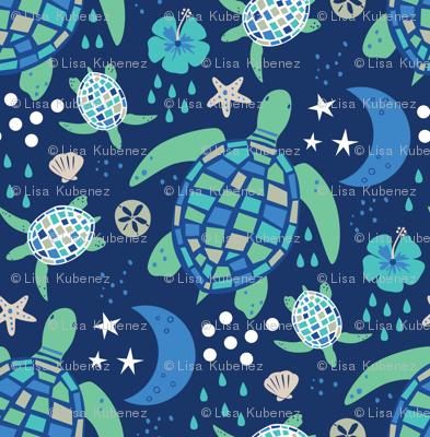 Turtle's Moonlit Walk
