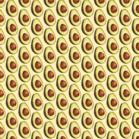 Avocado fabric by kellygilleran on Spoonflower - custom fabric