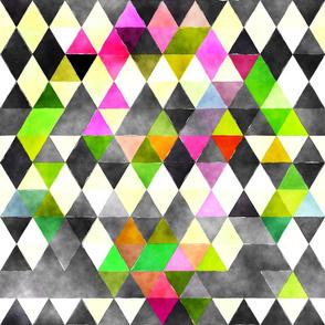 Jester Watercolor Triangles