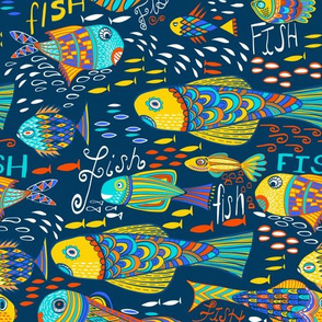 One Fish Two Fish Blue Fish