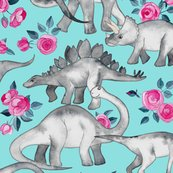 Rdino_floral_on_turquoise_spoonflower_shop_thumb