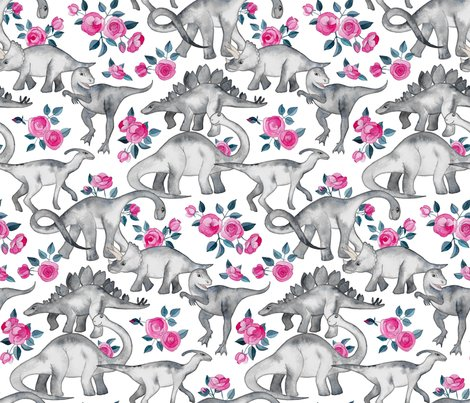 Rrrdino_floral_on_white_spoonflower_shop_preview