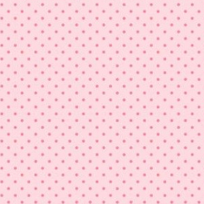 Woodland polkadot in pink