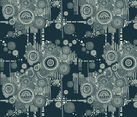 Microscopic Current fabric by erinrahill93 on Spoonflower - custom fabric