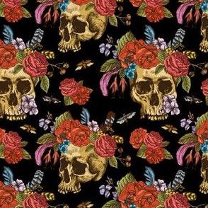 FlowersSkulls