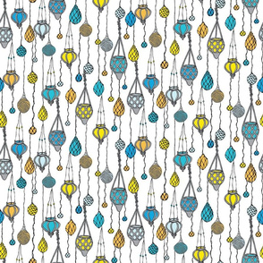 Hanging Lights - White