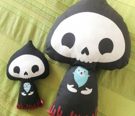Smaller grim reaper cut and sew toy