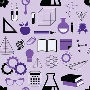 STEM - 8in (purple)