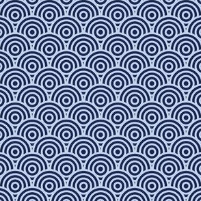 Rondelle (Slate Blue & Navy Blue)
