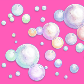 Bubbles_HotPink