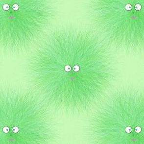 Hairy_Beastie_Warm Fuzzy Lime