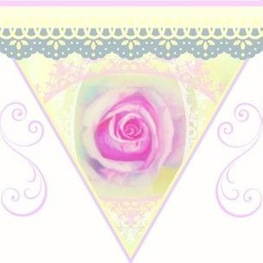 Summer Rose Bunting