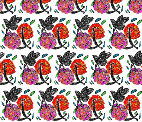 Oaxaca fabric by patsyd on Spoonflower - custom fabric