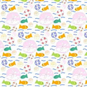 colorful sea