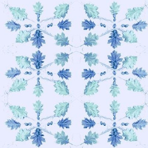 Oak Leaves (Light Lavender)