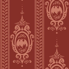 Elizabeth's Bat Damask