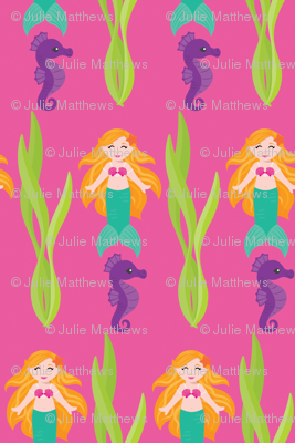Mermaids and Seahorses
