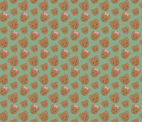 The Three Bears fabric by juliematthews on Spoonflower - custom fabric