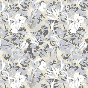 jungle floor - white-/mist/grey-sand
