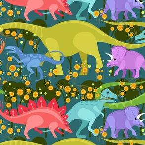 Dino  Flower Parade