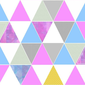 Wild Orchid Triangles