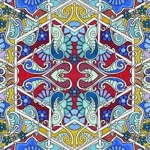 Hexagon Tangle