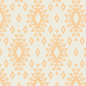 Aztec - Cream & Yellow